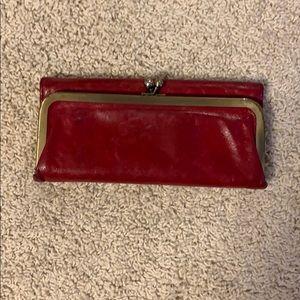 Red Rachel Hobo wallet